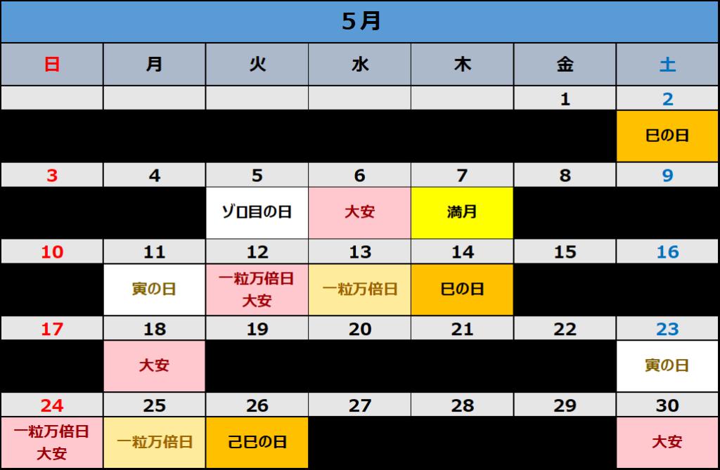 月 カレンダー 20205 【最新2020年版】満月・新月カレンダー